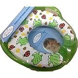 Asiento Reductor acolchado con asas para WC. Para bebés. Mundi Bebé. De Regalo Esponja.