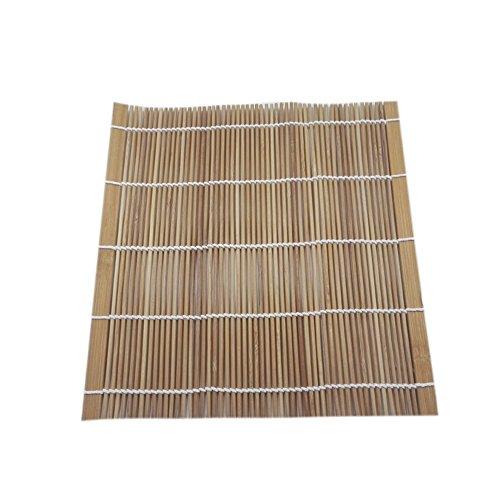 Finsink Sushi Sushi bambú Esterilla 24x 24cm
