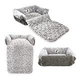 AllPetSolutions Alfie Beds Fleece Warm Dog/Cat Bed Sofa/Couch/Chair Protector (Small)