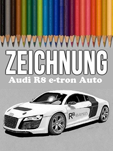 Clip: Zeichnung Audi R8 e-tron Auto (Tron Auto)