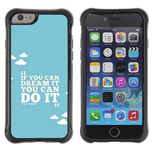 Graphic4You Answer Promptly With A Smile Englisch Zitat Nachricht Shockproof Anti-Rutsch Weichen Hülle Case Tasche Schutzhülle für Apple iPhone 6 Plus / 6S Plus Design #19