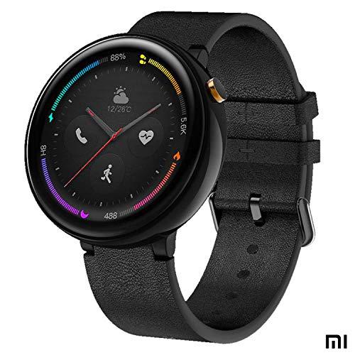 Amazfit Xiaomi Nexo Smartwatch Orologio Sportivo - 4G LTE (eSIM) - BioTracker PPG - GPS + GLONASS - Rilevamento intelligente delle attività personali - 1 GB di memoria musicale nera (Android e iOS)