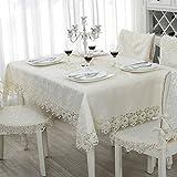 fwerq Runde Tisch Stil Weinschrank Tischdecke kleiner Couchtisch mat Tv-Kissen - 60 x 110 cm (24 x 43 Zoll)