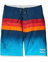 Billabong Momentum Shorts de baño niño, Niño, color azul, tamaño 8 años