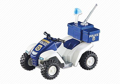 Playmobil 6504. Vehiculo Quad de Policia