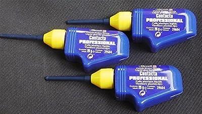 3 packs Flacons de Revell Contact Professionnel Modèle Colle 25g Bec X3