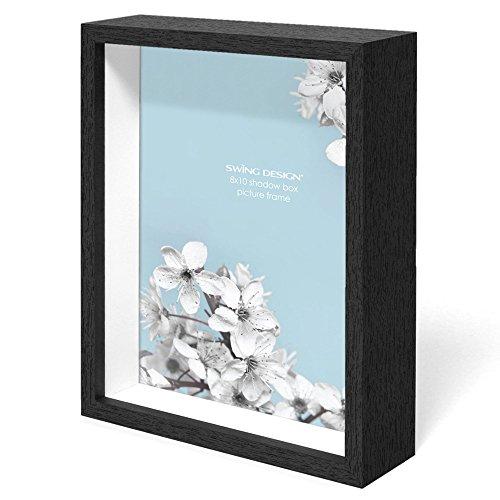 Swing Design chorma Bilderrahmen und Schatten Box, 20,3x 25,4cm schwarz (Box Small Shadow)