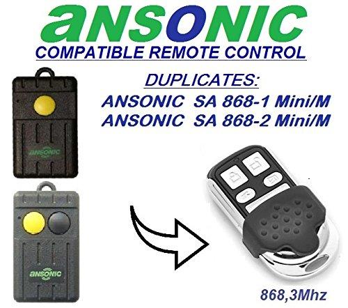 Ansonic-SA-868-1-miniM-Ansonic-SA-868-2-miniM-Compatible-Tlcommande-4-canaux-8683Mhz-fixed-code-CLONER-Remplacement-de-haute-qualit-pour-LE-MEILLEUR-PRIX