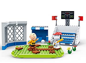 BanBao 7529 Snoopy - Balón de béisbol, Multicolor