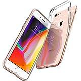 Spigen Coque iPhone 8, Coque iPhone 7, [Liquid Crystal] Ultra Fine TPU Silicone [Crystal Clear] Transparente/Adhérence Parfaite/Anti-Trace, Souple Coque