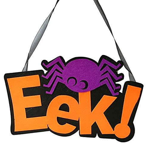 Zeichen Cute Boo EeK Brief Tür Hängende Zeichen für Zuhause Büro ()