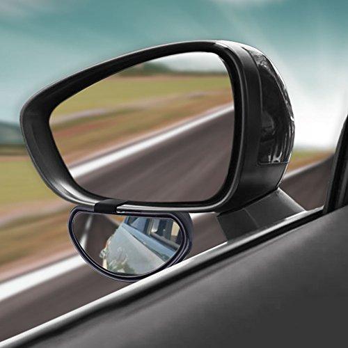Sedeta® Blind Spot Car Mirror Verre HD Convex Rearview fonctionne Safety Car bébé Miroirs pour camions large véhicules à but uniquement Angle