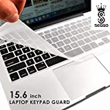 #4: SEGGO Silicone Keyboard Protector Skin For Laptop 15.6