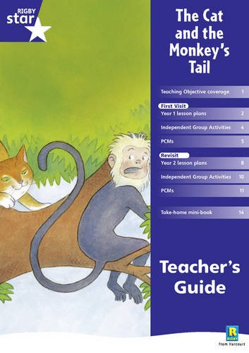 Rigby Star Shared Year 1 Fiction: The Cat and the Monkey's Tail Teachers Guide (RED GIANT)