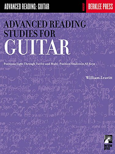 Advanced Reading Studies for Guitar (Advanced Reading: Guitar)