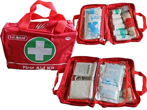 70Teile Luxus First Aid Kit Tasche inklusive Kühlakkus–Travel Home Auto