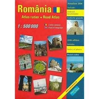 Rumänien - Straßenatlas / Romania - Atlas rutier 1 : 500 000