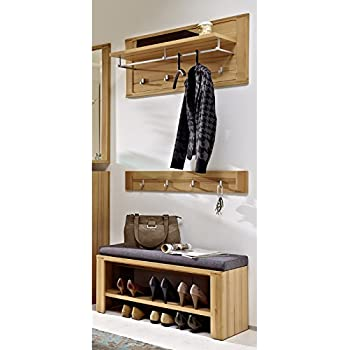 garderobe set garderobenschrank flurgarderobe garderobenm bel dielenm bel flurm bel. Black Bedroom Furniture Sets. Home Design Ideas