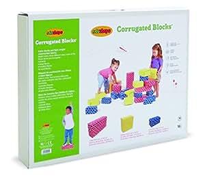 Edushape - Ed 709084 - Jeu De Construction - Edu'blocs - 84 Pièces