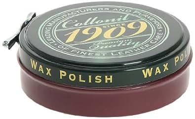 Collonil 1909 Wax Polish, Cirage - Rouge (Bordeaux), 75 ml