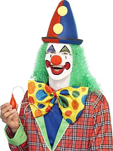 Preisvergleich Produktbild Riesige Spritzende Clown Fliege Scherzartikel gelb bunt