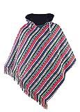 virblatt – Herren Poncho Hippie Kleidung Fleece Jacke Hippie Poncho Alternative Kleidung – Adelante