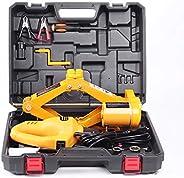 مجموعة رافعة ارضية السيارة الكهربائية 2تي 12 فولت من دينسن رافعة سيارة مقصية مع مفتاح تاثير لسيارة سيدان لتغيي