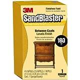 SandBlaster 3M P150 - Esponja de lija de doble ángulo para uso entre recubrimientos