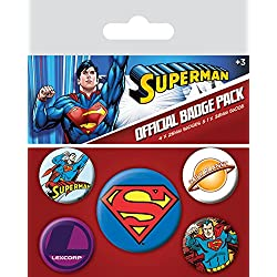 Pyramid International Superman Badge, multicolor, 10x 12,5x 1,3cm