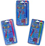 Rainbow Loom Metal Hook Tool Upgrade Kit - 3 Pack (Pink, Blue and Green)
