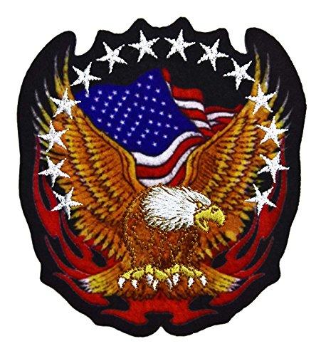 Aufnäher USA Adler (Nähen Adler)