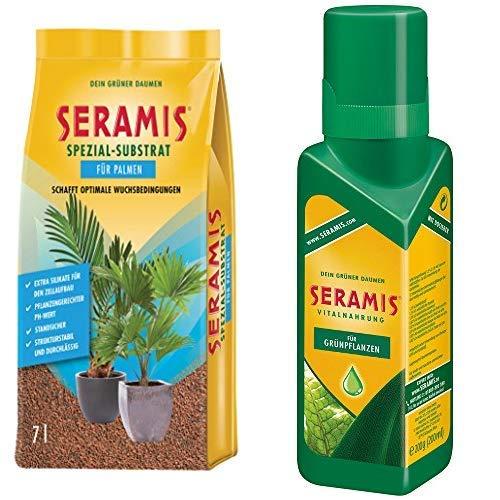 Seramis Grün-, Blühpflanzen