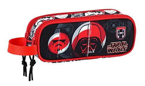 Safta Estuche Star Wars 'Galactic Mission' Oficial Escolar 210x60x80mm