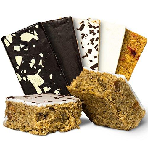 el Mix Box – Idealer Energy Weight Gainer und Muskelaufbau Booster oder als Protein Riegel Alternative, der Oatsnack mit Instant Oats zum Abnehmen 24x 125g (3.000g) Supplify mre epa (Cake Mix Cookies)