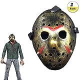 Jason Voorhees Freitag, 13. Horror Hockey Maske Jason Vs Freddie Scary Halloween Kostüm Maske Party