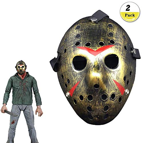 Beste Scary Halloween Masken - Jason Voorhees Freitag, 13. Horror Hockey