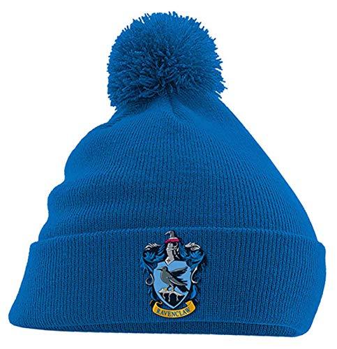 Harry Potter Mütze Beanie Ravenclaw House Crest Hogwarts Nue offiziell Blau
