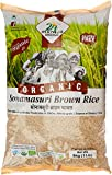 #10: 24 Mantra Organic Sonamasuri Raw Rice Brown Organic, 5kg