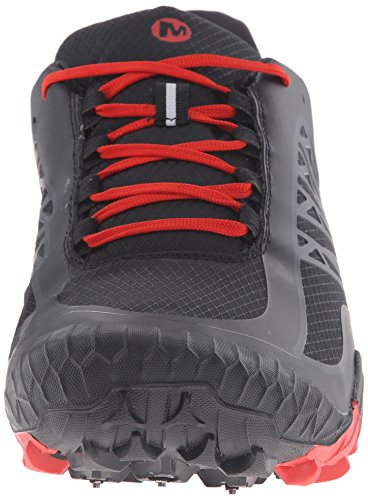 Merrell All Out Terra Ice WTPF, Chaussures de Trail Homme Rouge (Ozean)