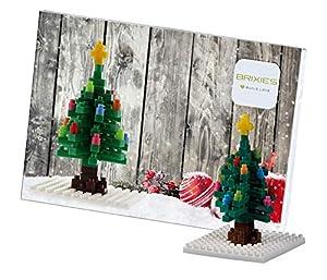 Brixies- Postal ARBOL DE Navidad, (Schäfer Toy Company GmbH BX220.014)