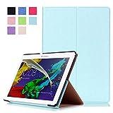 Hülle für Lenovo Tab 2 A10-30 A10-70F / Tab 10 TB-X103F 10.1 Zoll Schutzhülle Etui Tablet Tasche Smart Cover A10-70L (Hellblau)