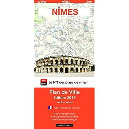 Nîmes : 1/11 000, recto/verso