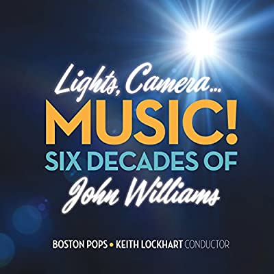 Lights Camera Music Six Decades of John Williams produced by Tvt Records/Tvt - quick delivery from UK.