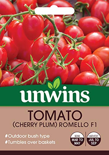 Unwins 30310640 Tomate (Cherry Plum) Romello F1 klar