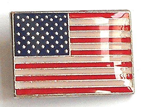Anstecknadel, Metall, Email, Motiv Amerikanische Flagge, Vereinigte Staaten von Amerika)