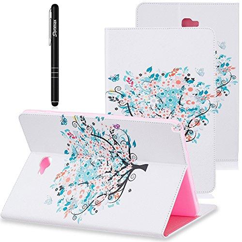 Slynmax Tasche Flip Case Schutzhülle für Samsung Galaxy Tab A 10,1 mit S Pen Zoll P580N Tablet...