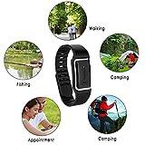 BYECHOW Elektronische Mückenschutz-Armbänder, wiederaufladbares USB-Mückenschutz-Ultraschall-Armband mit verstellbarem Band für Kinder, Kinder und Erwachsene