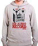 StyloTex Hoodie HD Audio Record, Größe:XXL;Farbe:heather