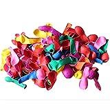 Funtoy 500 Stück Wasser Ballone Wasserbombe für Sommerspaß sortierte Farben