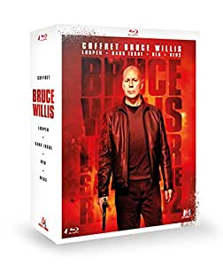 Coffret Bruce Willis : Looper + Sans issue + RED + RED 2 [Blu-ray]
